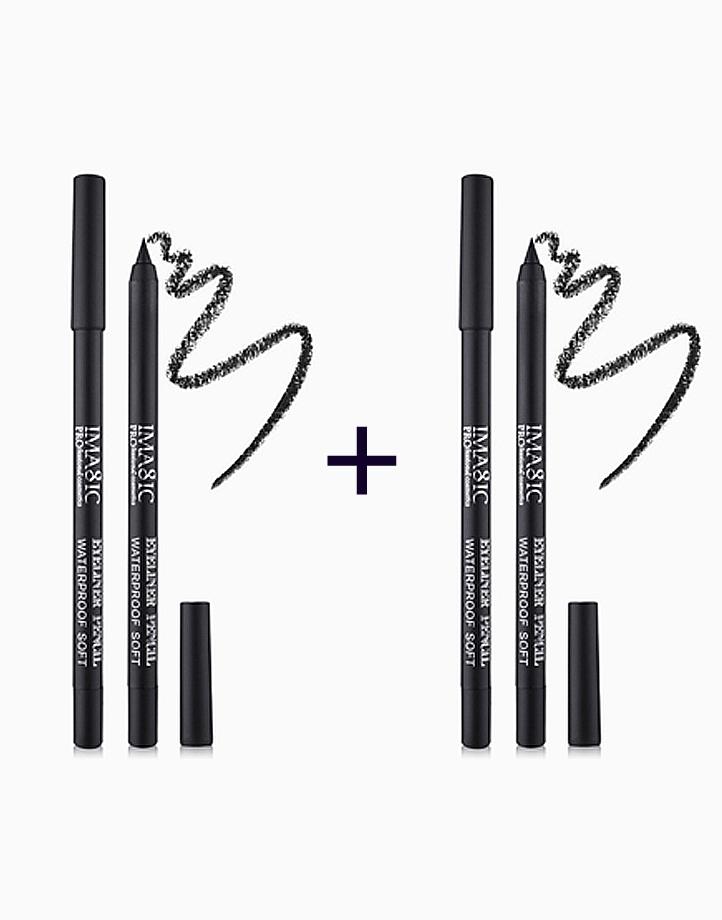 Matte Gel Eyeliner Pencil in Black (Buy 1, Take 1) by Imagic