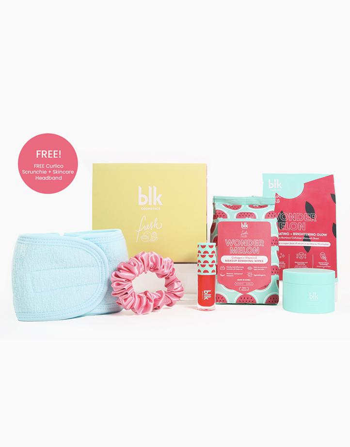 The Wondermelon Edit P.M. Set (FREE Scrunchie + Skincare Headband worth P338) by BLK Cosmetics