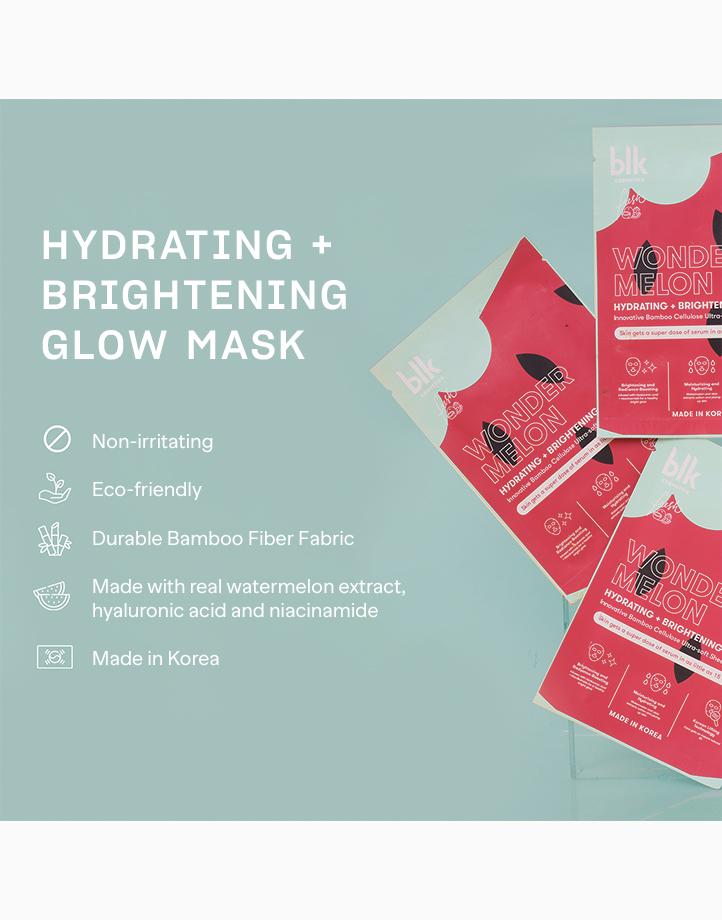 Blk cosmetics sets hydrating   brightening glow mask