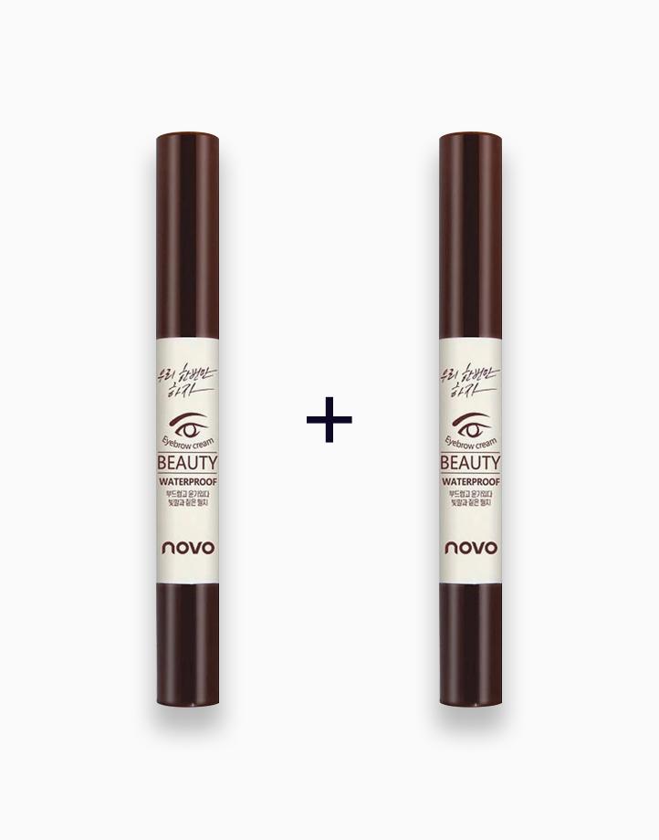 Waterproof Eyebrow Cream (Buy 1, Take 1) by Novo Cosmetics | #01