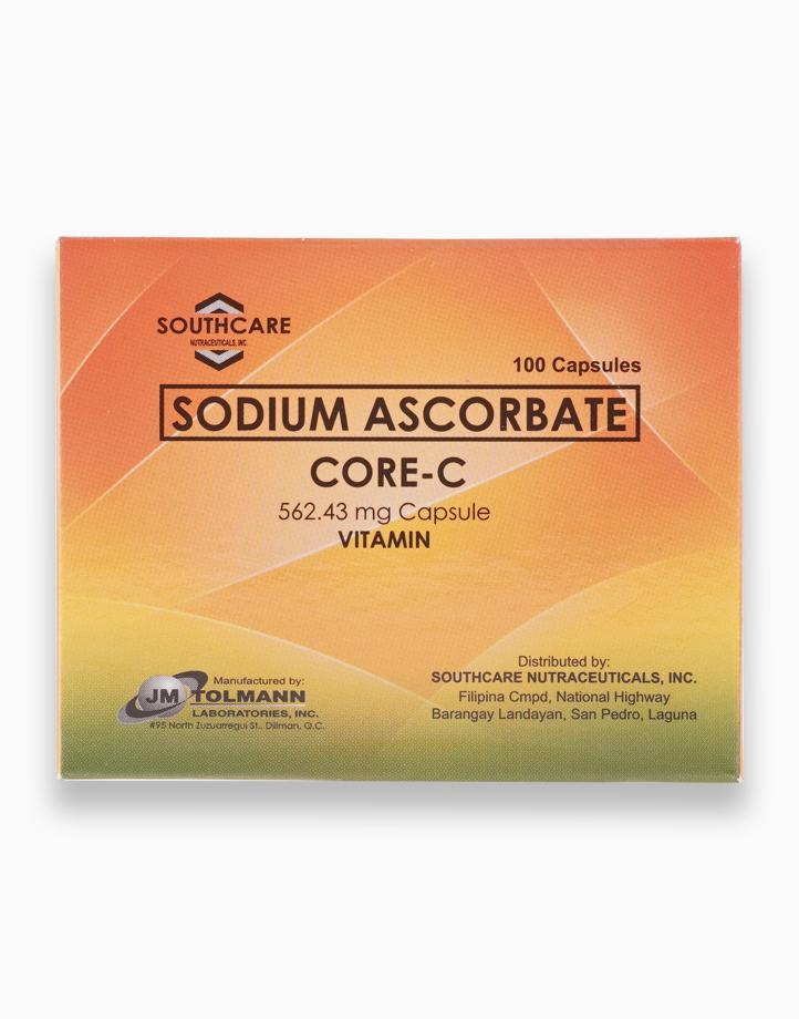Sodium Ascorbate Vitamin C (562.43mg, Box of 100 capsules) by Core C