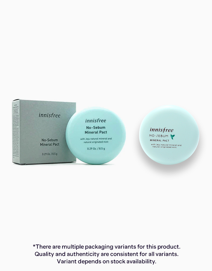 No Sebum Mineral Pact by Innisfree
