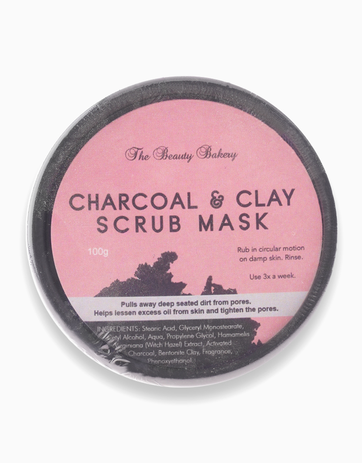Charcoal + Clay Scrub Mask by Beauty Bakery