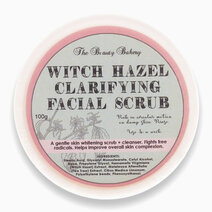 Witch hazel scrub