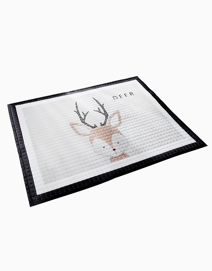 Quilted Non Skid Playmat by Lulubabyph | Deer