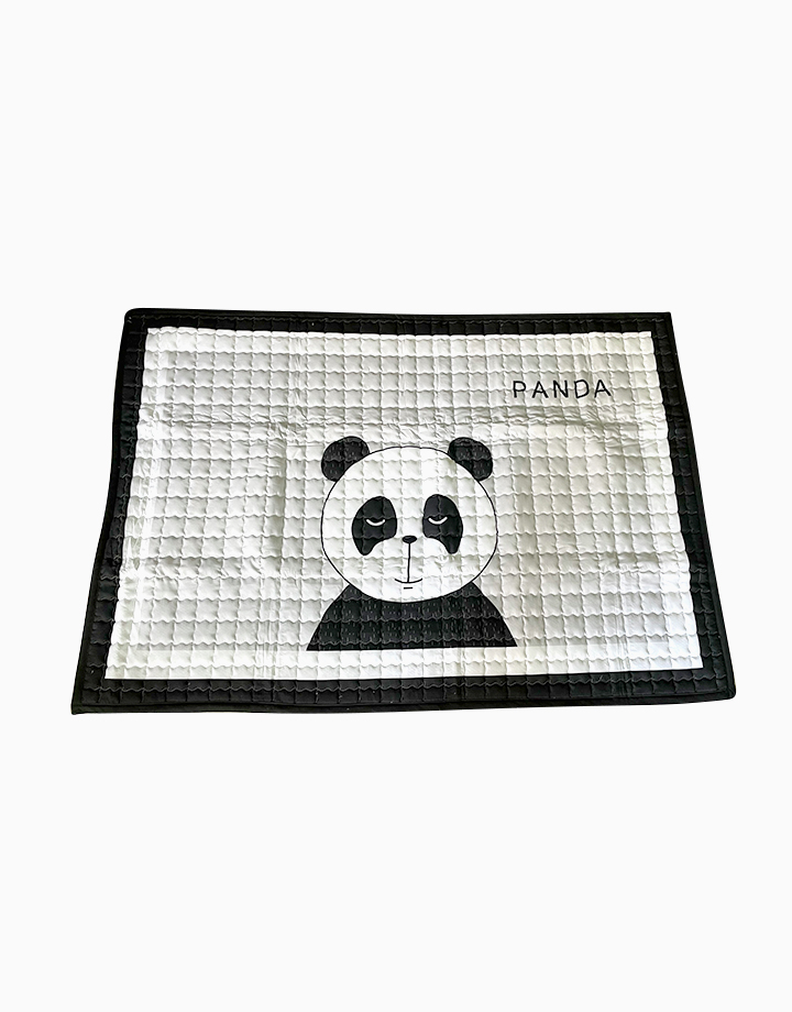 Quilted Non Skid Playmat by Lulubabyph | Panda