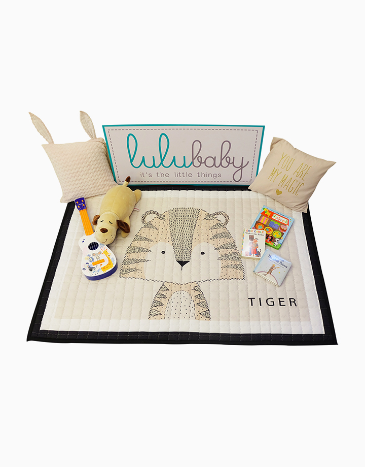 Quilted Non Skid Playmat by Lulubabyph | Tiger