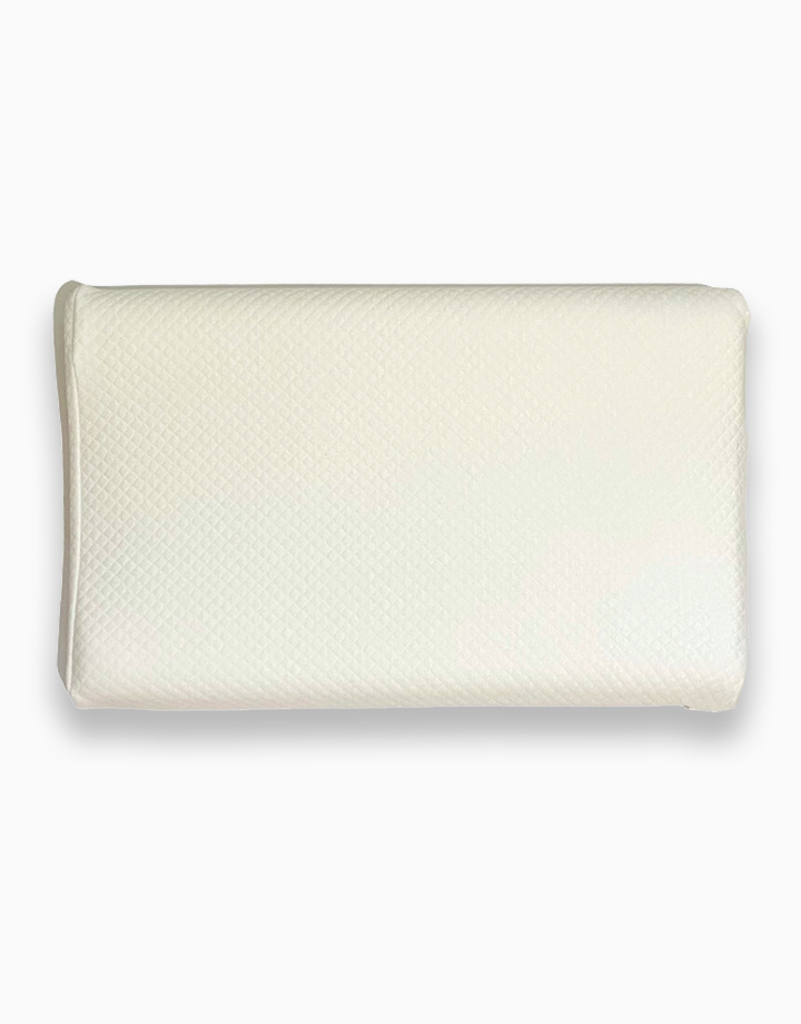 Memory Foam Toddler Pillow by Lily and Tucker   White