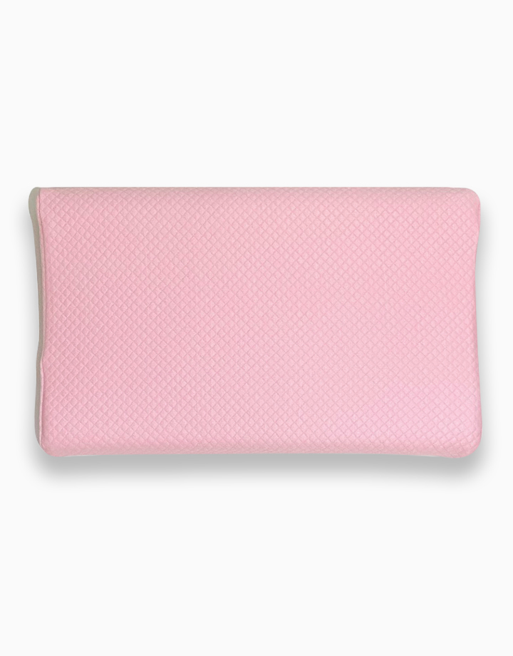 Memory Foam Toddler Pillow by Lily and Tucker   Pink