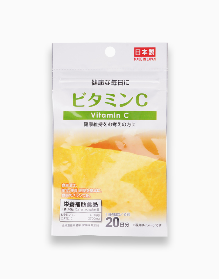 Vitamin C Tablets (20 Day Supply) by Daiso