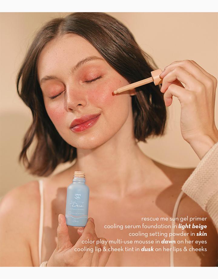 Dew Cooling Serum Foundation SPF 15 by Happy Skin | Light Beige