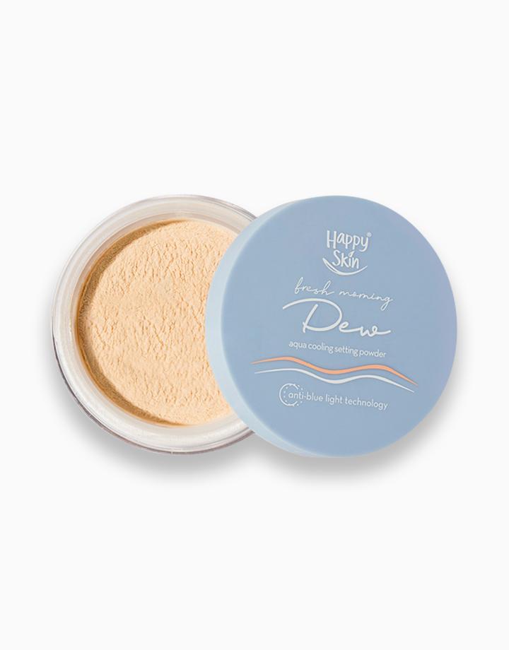 Soft Dewy Face Base Set: Serum Foundation + Aqua Setting Powder by Happy Skin
