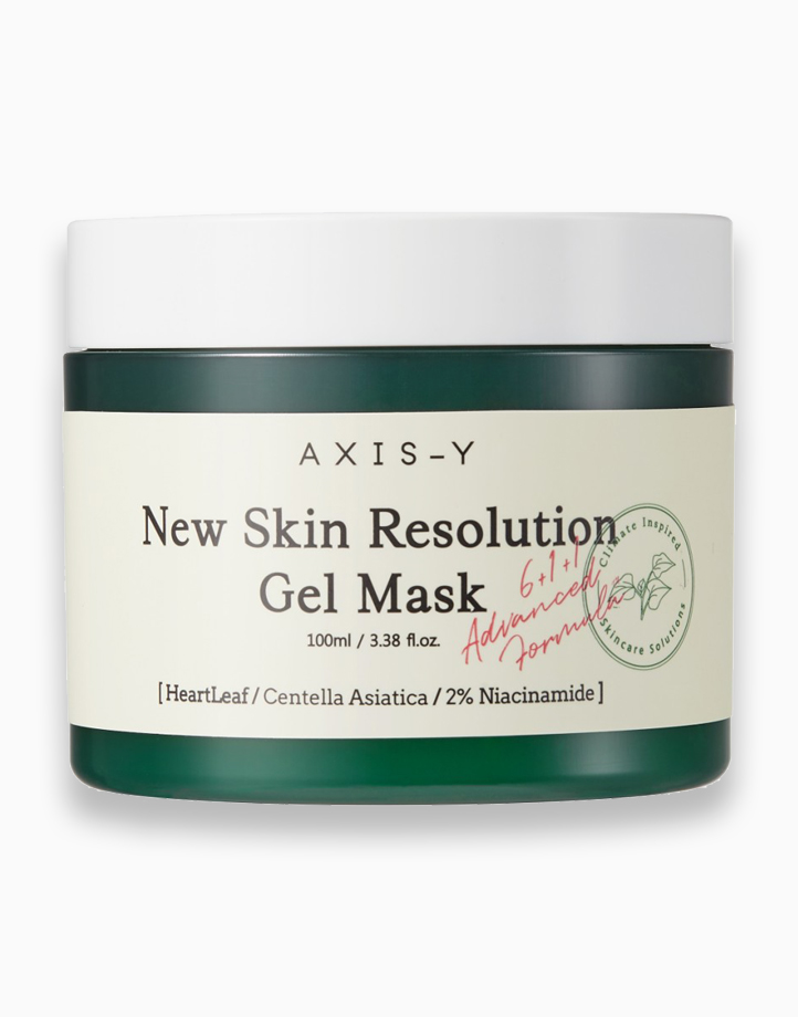 New Skin Resolution Gel Mask by AXIS-Y