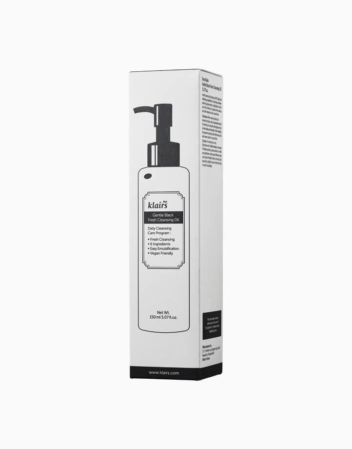 Gentle Black Fresh Cleansing Oil by Dear Klairs