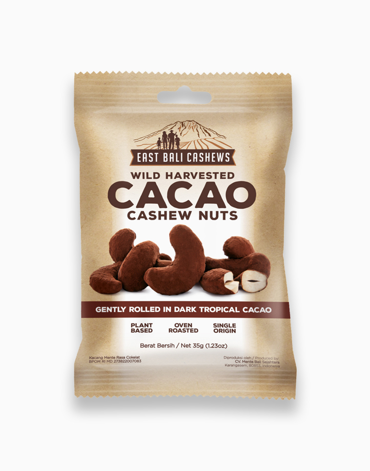 Cacao Cashew Nuts (35g) by East Bali Cashews