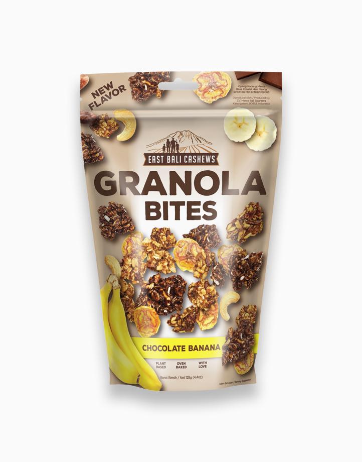 Granola Bites Chocolate Banana (125g) by East Bali Cashews