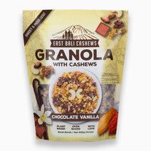 Granola w/ Cashews Chocolate Vanilla (400g) by East Bali Cashews