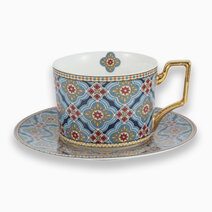 Shiraz Cup & Saucer by KIMI Home and Lifestyle