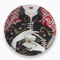 Re chinoiserie dinner plate %28design a%29