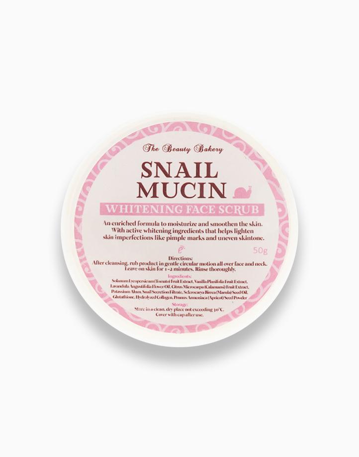 Snail Mucin Whitening Face Scrub (50g) by Beauty Bakery