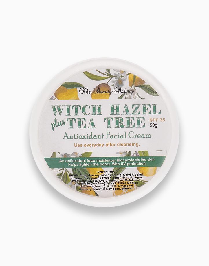 Witch Hazel + Tea Tree Antioxidant Facial Cream (50g) by Beauty Bakery