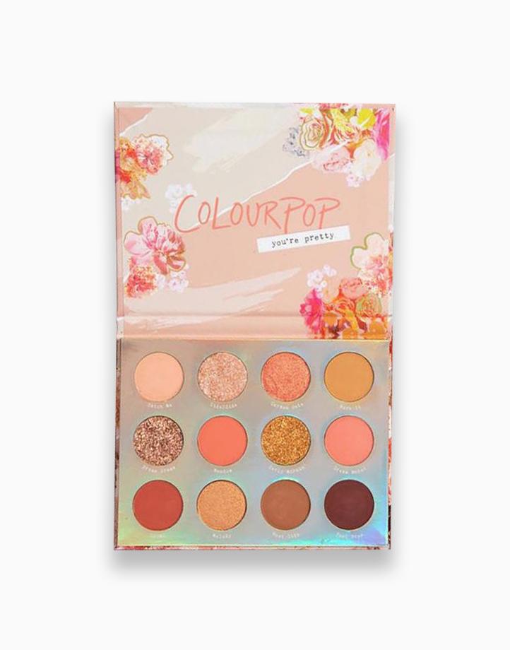 Sweet Talk Pressed Powder Shadow Palette by ColourPop
