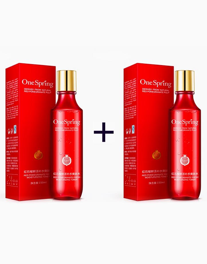 Red Pomegranate Moisturizing Toner (Buy 1, Take 1) by One Spring