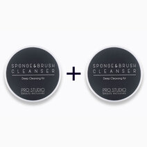 Sponge and Brush Cleanser (Deep Cleansing Kit) (Buy 1, Take 1) by PRO STUDIO Beauty Exclusives