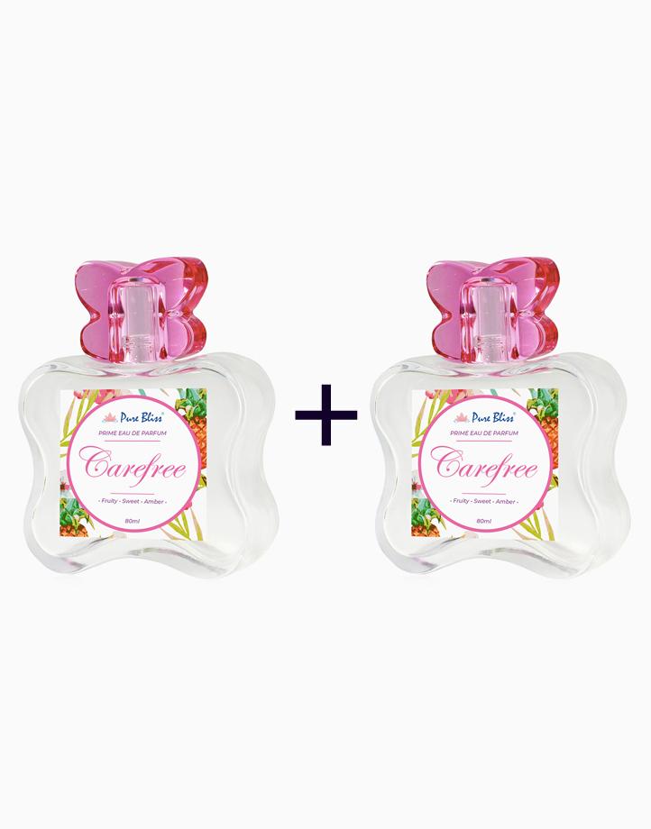 Carefree Prime Eau de Parfum (80ml) (Buy 1, Take 1) by Pure Bliss
