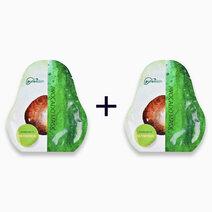 Re b1t1 purenskin korea avocado mask