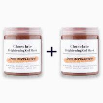 Re b1t1 skin revolution chocolate brightening gel mask