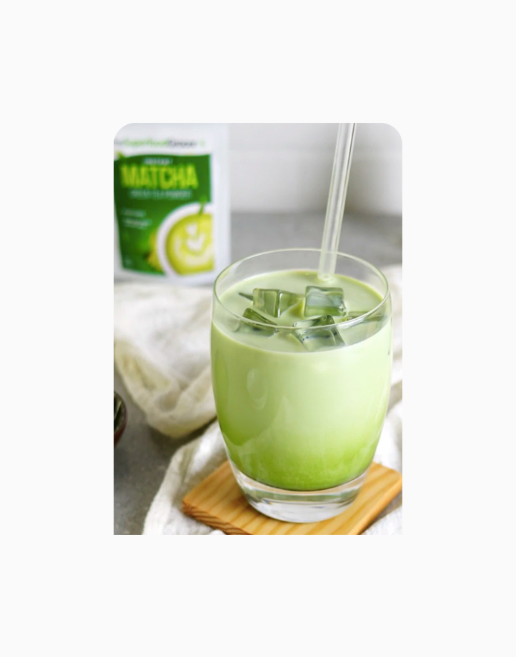 Instant Matcha Premium Green Tea Powder (100g) by The Superfood Grocer