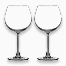 Burgundy Glass - 643mL/23oz. (Set of 2) by Sunbeams Lifestyle