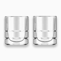 Premium Double-Walled Clear Coffee Glass - 9.4oz (Set of 2) by Sunbeams Lifestyle