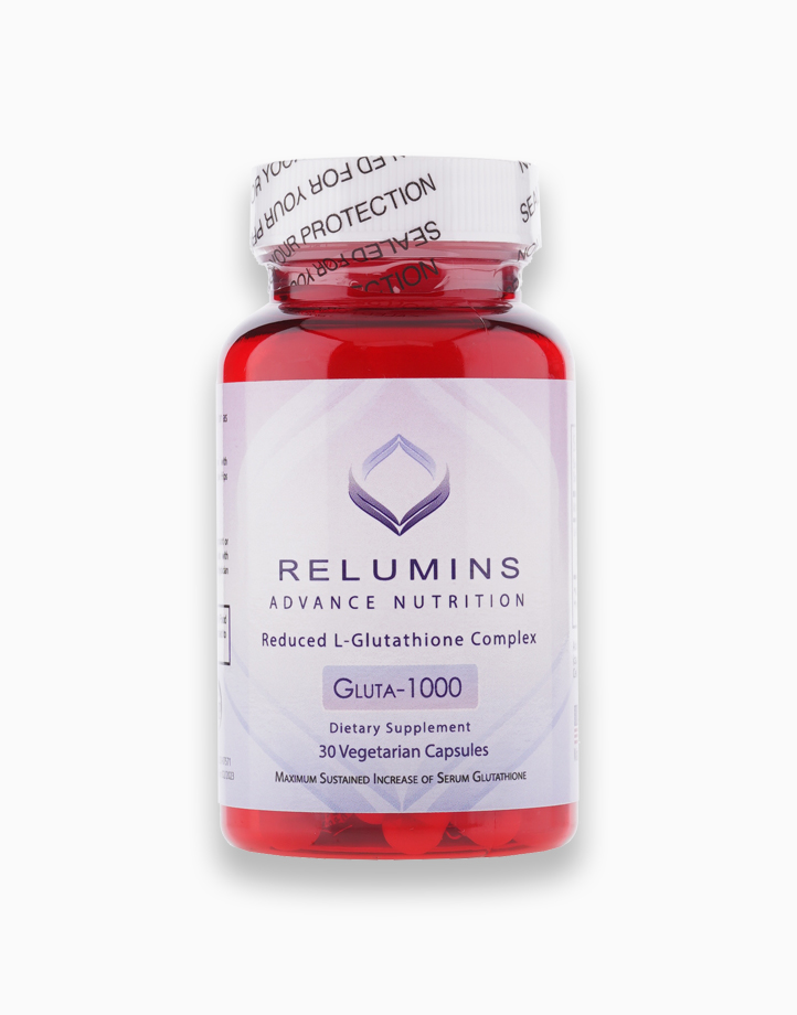 Relumins Advance Nutrition Gluta 1000 - Reduced L-Glutathione Complex (30 Capsules) by Relumins