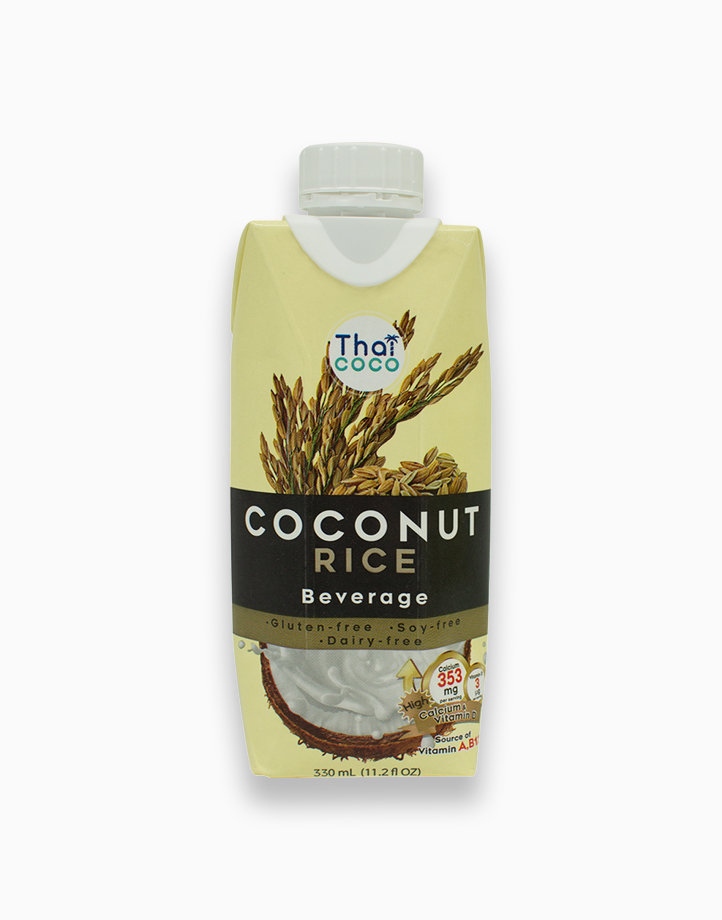 Coconut Beverage - Rice Flavor (330ml) by Thai Coco
