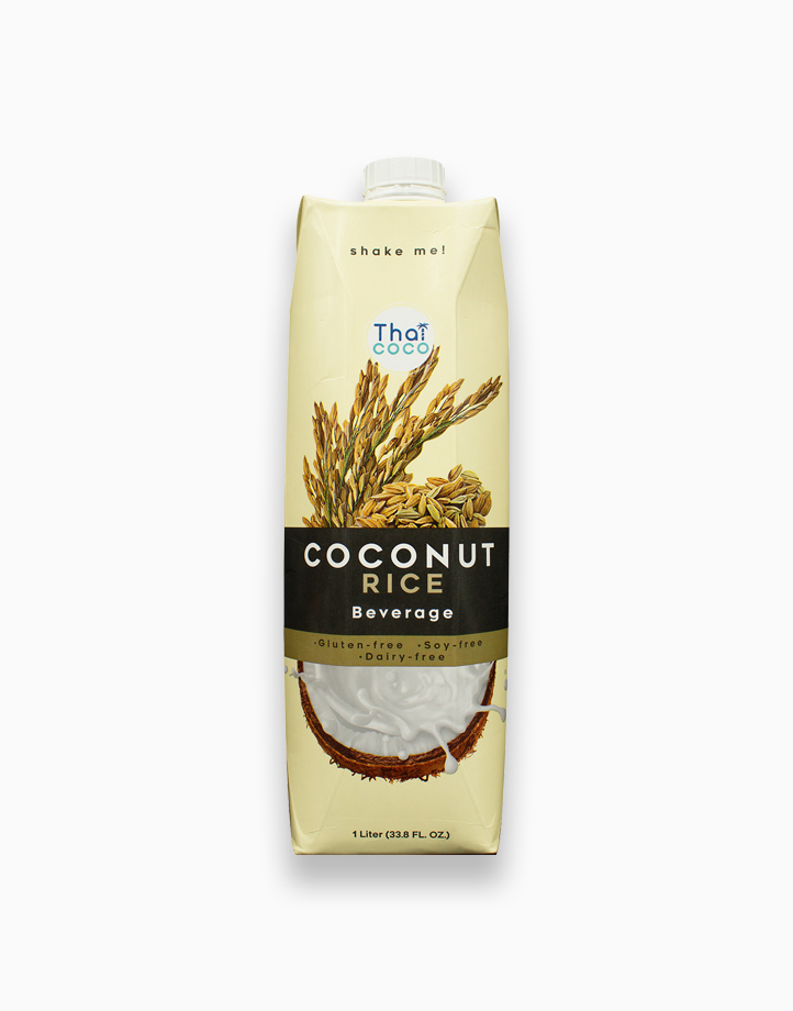 Coconut Beverage - Rice Flavor (1000ml) by Thai Coco