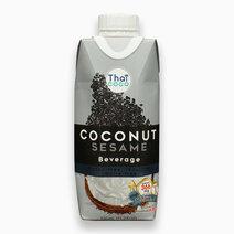 Coconut Beverage - Sesame Flavor (330ml) by Thai Coco