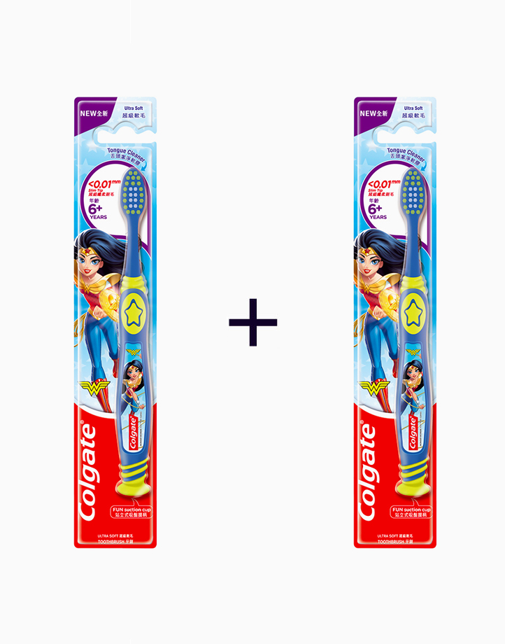 Colgate Kids Toothbrush Wonder Woman (Ultra Soft) (Buy 1, Take 1) by Colgate