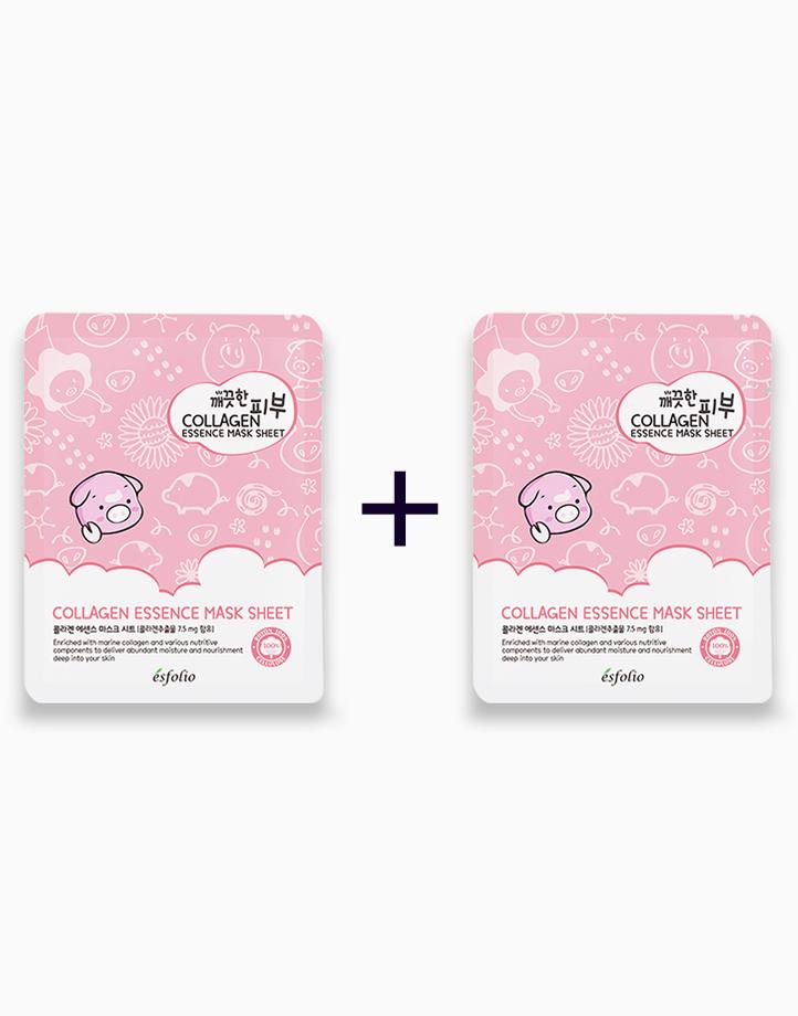 Pure Skin Collagen Essence Mask Sheet (Buy 1, Take 1) by Esfolio