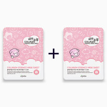 Re b1t1 esfolio pure skin collagen essence mask sheet