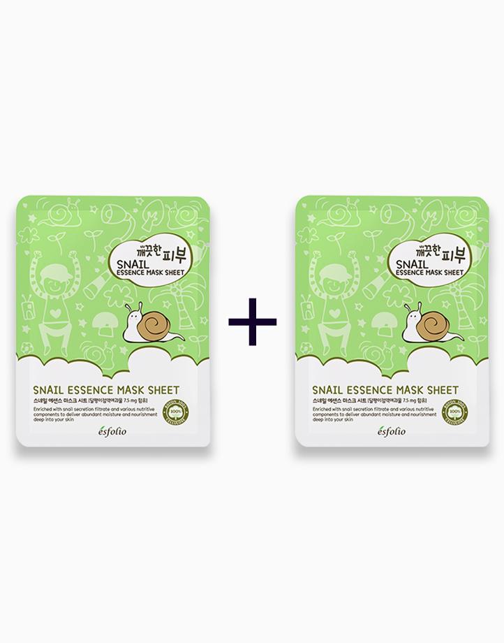 Pure Skin Snail Essence Mask Sheet (Buy 1, Take 1) by Esfolio