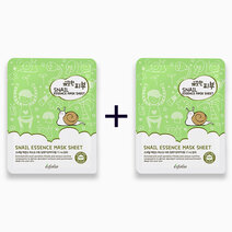 Re b1t1 esfolio pure skin snail essence mask sheet