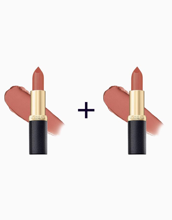 Color Riche Mattes (Buy 1, Take 1) by L'Oréal Paris   Evening Sur