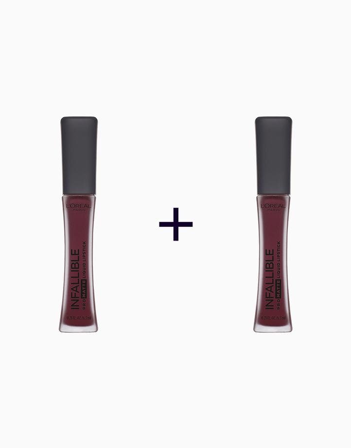Infallible Pro-Matte Liquid Lipstick (Buy 1, Take 1) by L'Oréal Paris | Roseblood