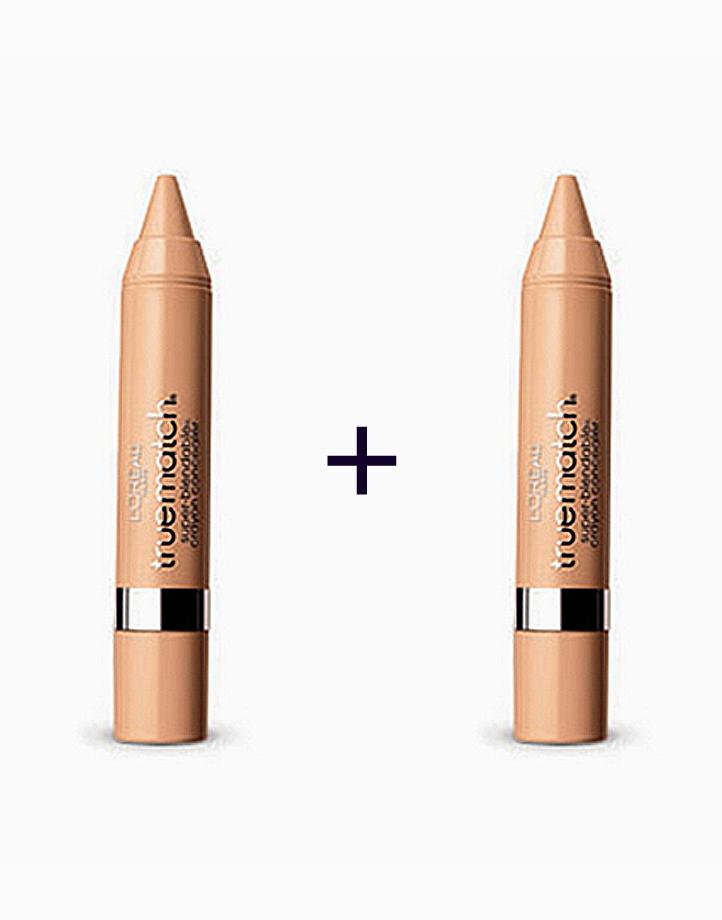 True Match Super Blendable Crayon Concealer (Buy 1, Take 1) by L'Oréal Paris   W4-5