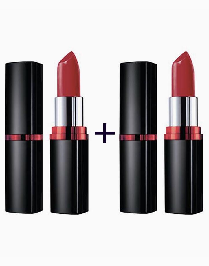ColorSensational Vivid Creamy Matte Lipstick (Buy 1, Take 1) by Maybelline | Big Apple Red