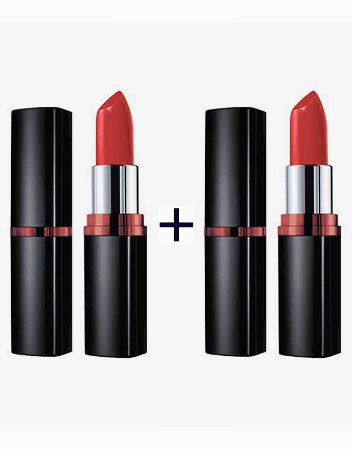ColorSensational Vivid Creamy Matte Lipstick (Buy 1, Take 1) by Maybelline | Dare To Be Red