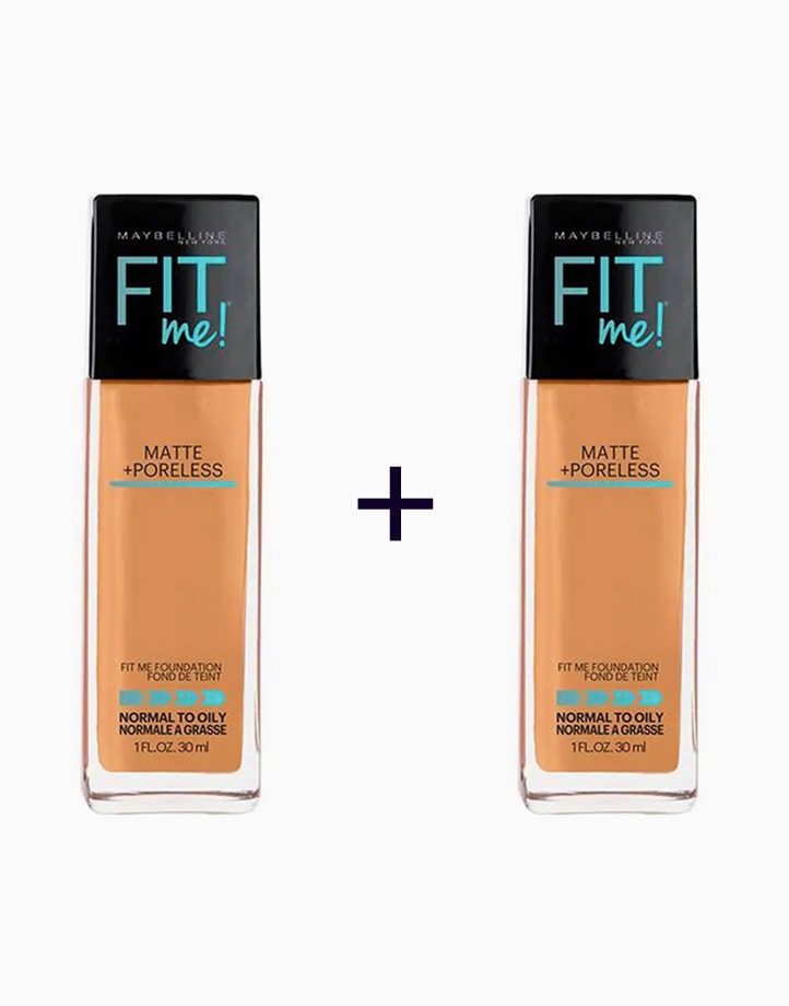 Fit Me Matte Poreless Liquid Foundation (Buy 1, Take 1) by Maybelline | 335 Classic Tan