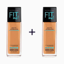 Re b1t1 maybelline fit me matte poreless liquid foundation classic tan